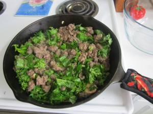 Sausage and Kale Filling