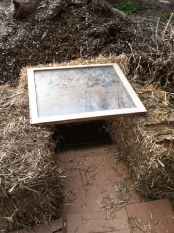 Measuring the cold frame width